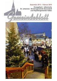 Gemeindeblatt Dezember 2013-Februar 2014 - Ev.-luth ...