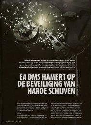 EA DMS Hamert op de beveiliging van harde schijven - European ...
