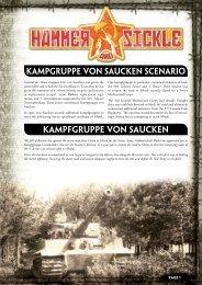Kampgruppe von Saucken Scenario ... - Flames of War