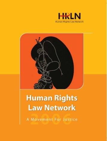 HRLN - A Profile - Human Rights Law Network