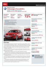 Volkswagen polo (2009-) - Which.co.uk