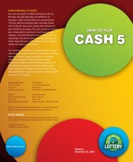 How-to-Play Cash 5 - Colorado Lottery