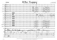 After Supper - LLH1108 - A4 published score - Lush Life Music