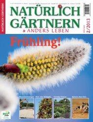 Ausgabe 2013 - Natürlich Gärtnern