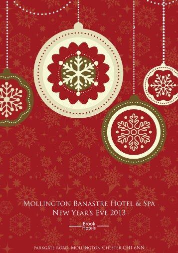 Mollington Banastre Hotel & Spa New Year's Eve 2013 - Brook Hotels