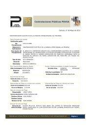 Contrataciones Públicas PDVSA - Cámara Petrolera de Venezuela