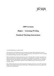 2009 German Higher − Listening/Writing Finalised Marking ...