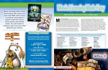 Movie Licensing Made Easy Insert.pdf - Think Media
