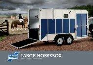 Large Horsebox Brochure & Price List - Barlow Trailers