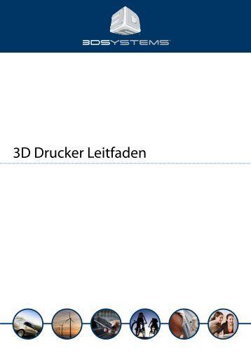 3D Drucker Leitfaden - im CADShop