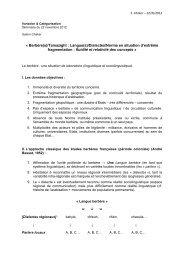 « Berbère(s)/Tamazight : Langue(s)/Dialectes/Norme en situation d ...