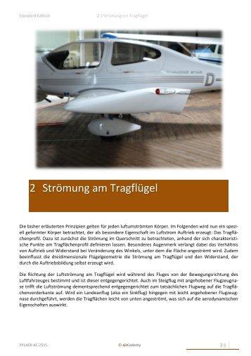 2 Strömung am Tragflügel - airCademy