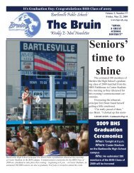 The Bruin - Bartlesville Public Schools