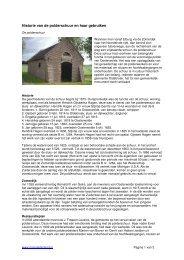Historie van de polderschuur en haar gebruiken - MijnGelderland
