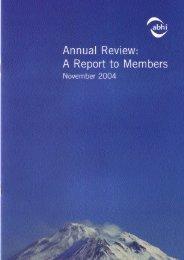 ABHI Annual Report 2004 - Association of British Healthcare Industries