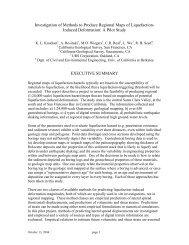 final report - PEER - University of California, Berkeley