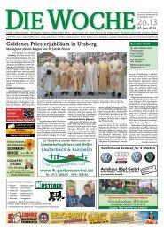 Ausgabe 26/13 - Redaktion + Verlag