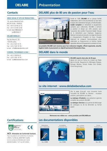 PDF (10.4 Mb) - DELABIE