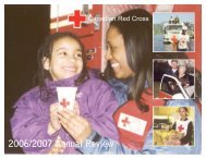 Toronto Region 2006-2007 Annual Review - Croix-Rouge canadienne