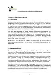 Konzept Dokumentationsstelle Atomfreie Schweiz