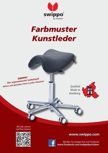 Swippo Farbmuster Kunstleder