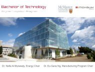 Dr. Nafia Al-Mutawaly, Energy Chair Dr. Eu-Gene Ng, Manufacturing ...