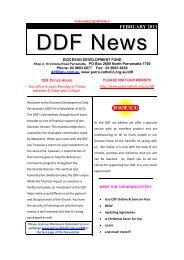 DDF News Feb 2013 - Catholic Diocese of Parramatta - Australian ...