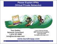 Virtual Private Networks - Laura Jeanne Knapp
