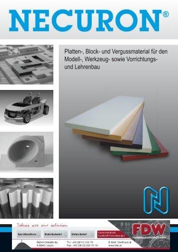 Platten- Blockmaterial