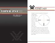 Vortex 4-16x50 EBR-1 MRAD reticle manual - EuroOptic.com