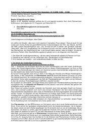 Protokoll der Vollversammlung der VUV, Neresheim, 23