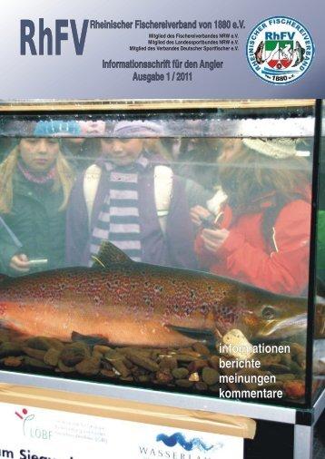 geschäftsberichte 2010 - Rheinischer Fischereiverband von 1880 eV