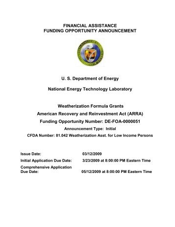Weatherization Assistance Program - Edison Foundation