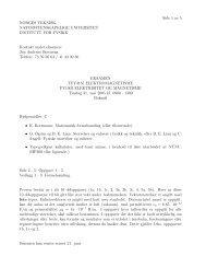 Side 1 av 5 NORGES TEKNISK- NATURVITENSKAPELIGE ... - NTNU