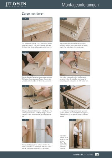 Zarge montieren und einbauen - JELD-WEN Türen