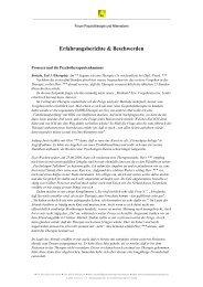 Erfahrungsberichte & Beschwerden - Netzwerk Psychotherapie und ...