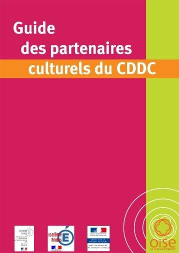 Guide des partenaires culturels 2013 - Conseil général de l'Oise