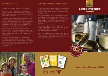 Preisliste aussen web - Weingut Laurentiushof