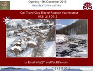 Pragelato Via Lattea agent friendly - Travel Club Elite