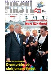 Drum prüfe, ob sich jemand findet Herz für Horst - Dachdecker ...