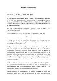 BFH Urteil vom 18. Oktober 2007 VI R 96_04 u.a..pdf