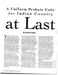Probate & Property Issues In Indian Country - Page 2