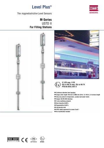 Level Sensor USTDII - MTS Sensors