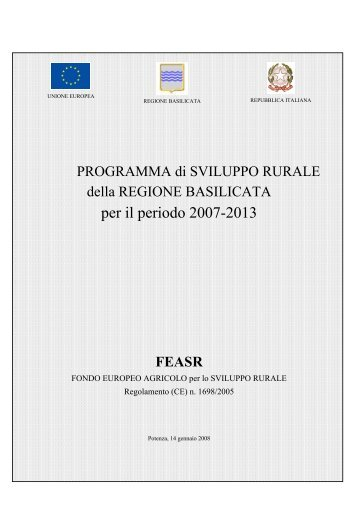 PSR 2007-2013 - Rete Pari Opportunita