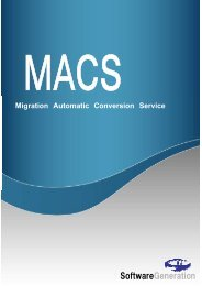 SoftwareGeneration - ソフトウェアジェネレーション株式会社