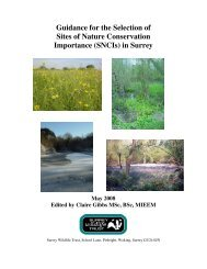 Guidance for the Selection of Sites of Nature Conservation ...
