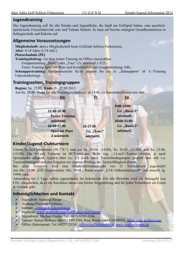 Kleines Golflexikon speziell für (noch)Nichtgolfer - Golfclub Schloss ...