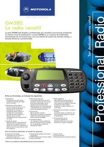 Motorola GM380 - RadCom