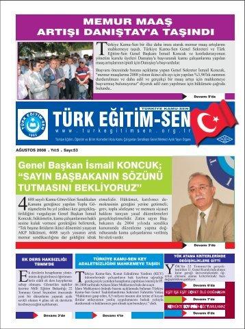 """Genel Başkan İsmail KONCUK; """"SAYIN ... - Türk Eğitim-Sen"""