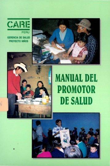 . MANUAL DEL PROMOTOR DE SALUD